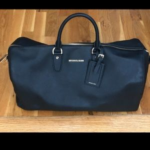 Michael Kors Black Weekender Bag w/ Shoulder Strap
